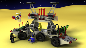 LEGO Solar Power Transporer by zpaolo