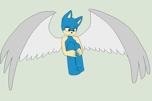 Sonic Base 37~Sad Angel~ by Xbox-DS-Gameboy