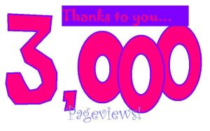 3000 hits by DBCDude01
