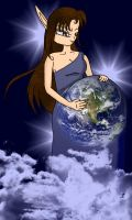 Earth Goddess by KlickWitch