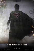 """Man of Steel"" teaser poster by AndrewSS7"