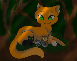 SquirrelFlight and kits by xXInsaneKittyCatXx
