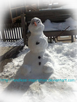 Frozen Olaf the Snowman by Endless-Inspiration