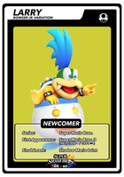 SSB4 Cards Larry by GameAndWill