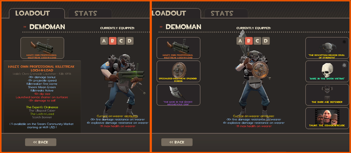 TF2: NEW Loadout for Nightmare Knight by Dragon-V0942