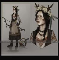 Adopt auction - [CLOSED] - Archer from the forest by Yearniing-And-Heroin