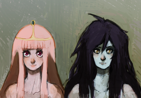 Bubbline. busts by Kunaike