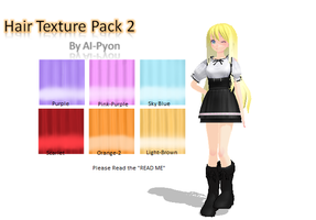 MMD: Light hair Textures by AI-Pyon