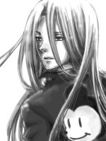 sephiroth X mickey mouse by nagoyankitty