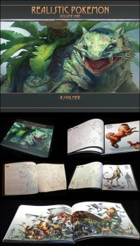 Realistic Pokemon-Volume One Art Book by arvalis
