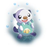 501 Oshawott I Choose You by WeisseEdelweiss