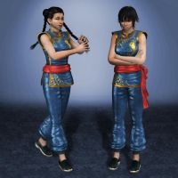 Dead Or Alive 5 Pai Chan 1 by ArmachamCorp