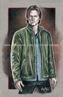 Sam Winchester 2010 by scotty309