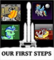 Our First Steps eReader by jlryan