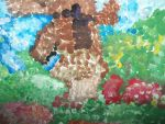 windmill painting~impriston painting by angelgirlfan