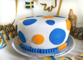Sweden Cake by SkuttyWan