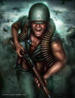 SGT. Rock by Aioras