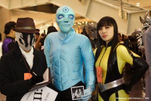 Watchmen Trio by chenmeicai
