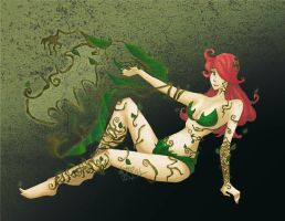 Arkham Style: Poison Ivy by jayoh28