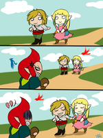 Zelda: Best Friends by Kilala04