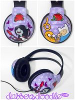 Marceline Headphones by DablurArt