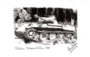 Panther in Normandy by Einsklein