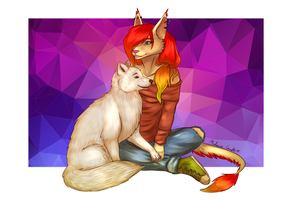 [ GIFT ] Naali Vekkinei + Marchef by TheMarchef