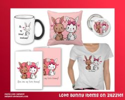 Love Bunnies on Zazzle by YamPuff