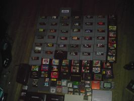 my game collection part one by shinigami-of-death02