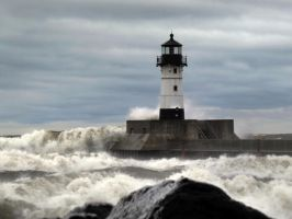 when the Great Lakes gets angry by Nipntuck3