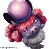 Spoink by MellowMeloetta