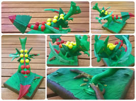 Mega Sceptile. Auction starts tonight. by dobharachu