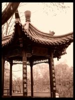 Chinese Tea House: Gazebo by deadward1555