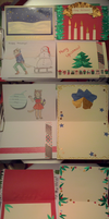 Holiday Card Project 2015 by Misecrena