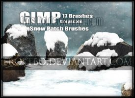 Snow Patch Brushes GIMP by FrostBo