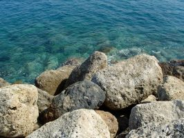 Rocks By The Sea by StooStock