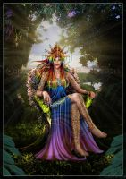 Revisited Fey Queen by LRJProductions