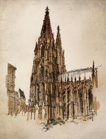 Cologne Cathedral II by PinGponG83
