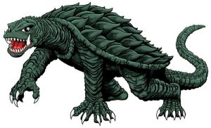 Gamera by kaijuverse