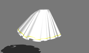 MMD - ruffle skirts by Ina-C