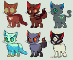 ! kitty auctions ! by cloudymalachite