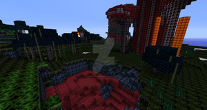 Minecraft: Super Metroid Texture Pack progress 1 by ZoeMariePaige