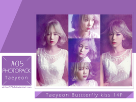 05 Photopack Taeyeon Buttterfly kiss 14P by xichan by xichan0794