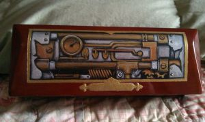 Steam Punk pen box by EdwinNewbetter