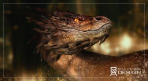 Smaug by bradatkinsondesign