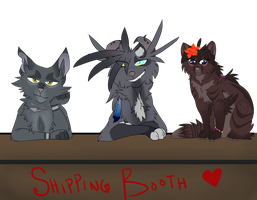 Shipping Booth [OPEN TO COMMENTS/ROLEPLAYS] by Jaewolfeh22z