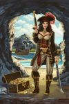 Pirate Pinup by AlixBranwyn