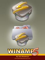 Winamp icons 2.0 by weboso
