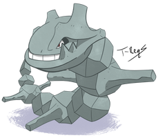 Steelix by T-Reqs