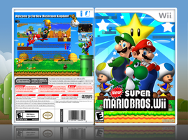New Super Mario Bros. Wii by Spiderpig24